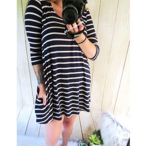 Urban Outfitters striped t-shirt dress 🌿